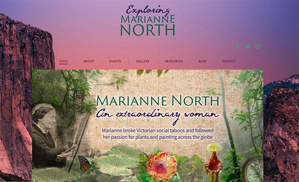 Marianne North exhibit at Kew Gardens